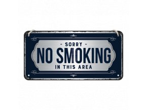 Plechová Ceduľa No Smoking