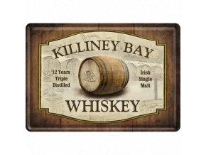 Plechová Pohľadnica Killiney Bay Whiskey