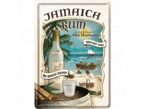 Plechová Pohľadnica Jamaica Rum