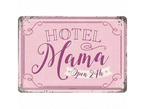 Plechová Pohľadnica Hotel Mama