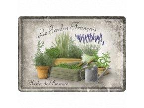Plechová Pohľadnica Herbes de Provence