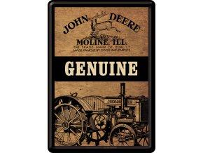 Plechová Pohľadnica John Deere Genuine