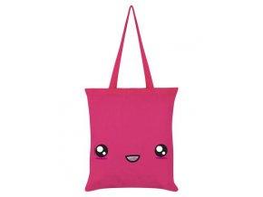Bavlnená Taška Super Kawaii Hot Pink