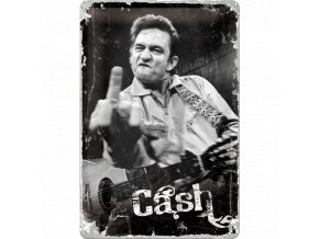 Plechová ceduľa Johnny Cash