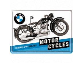 Plechová Pohľadnica BMW Motorcycles