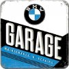 Plechové Podtácky BMW Garage