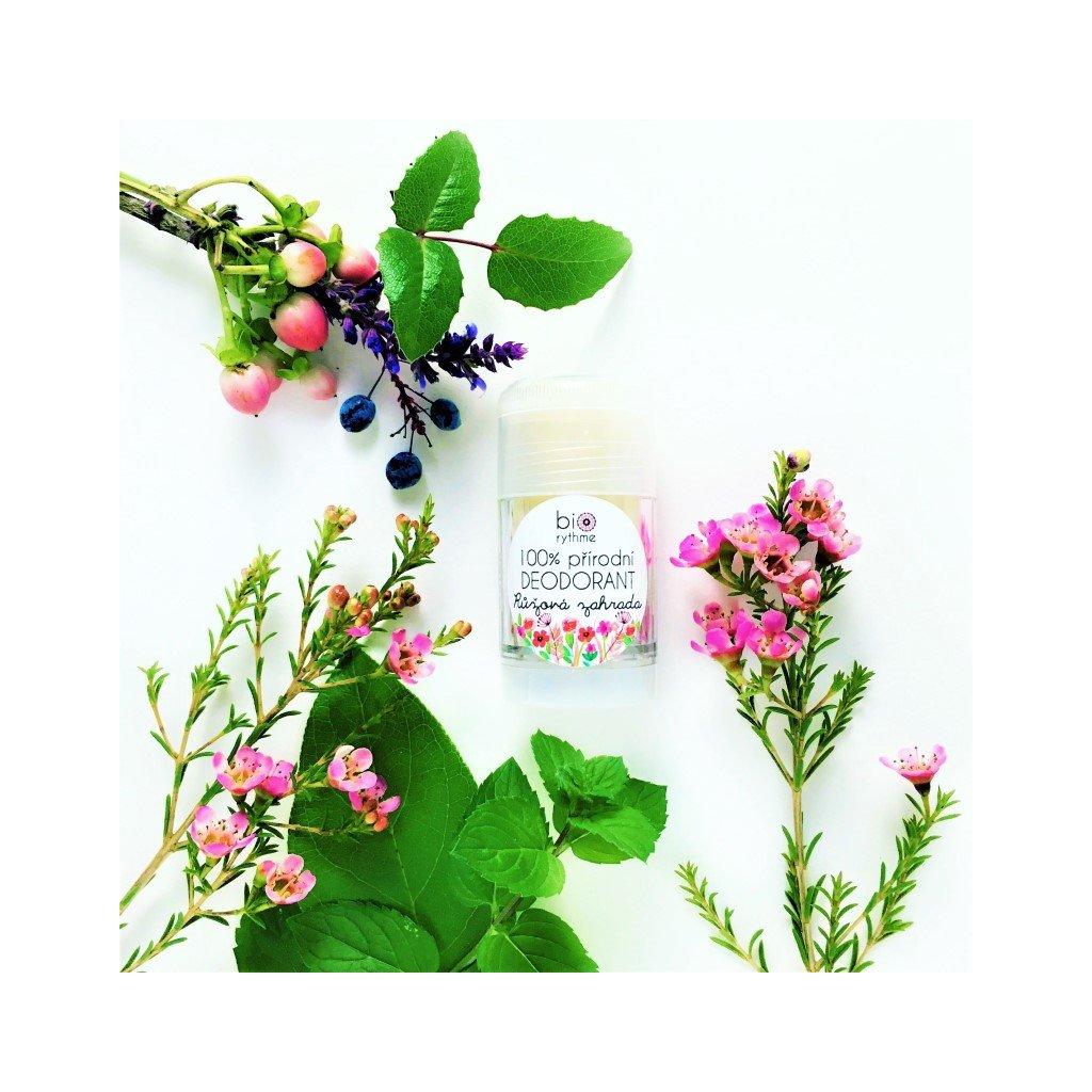 růžová zahrada deodorant
