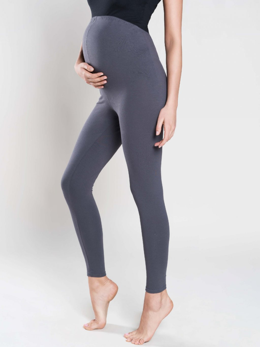 Leggings maternity grafit