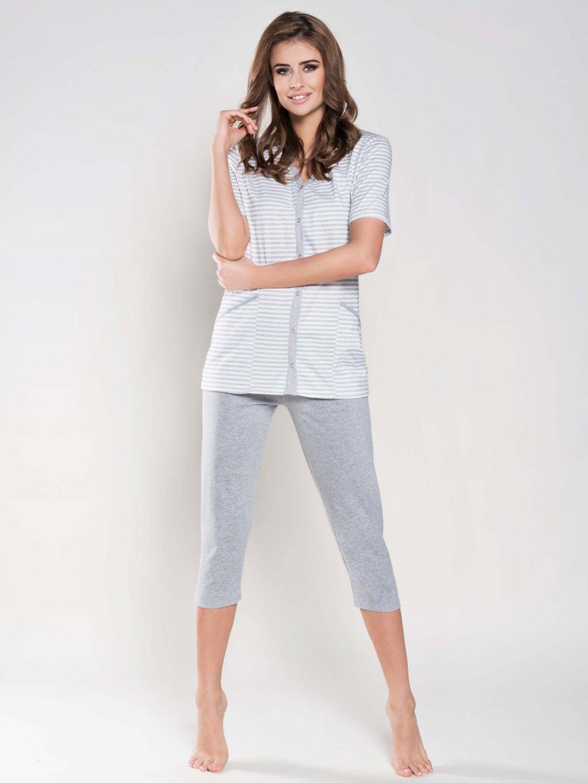 75992921fef Wanessa pyjamas nursing grey1