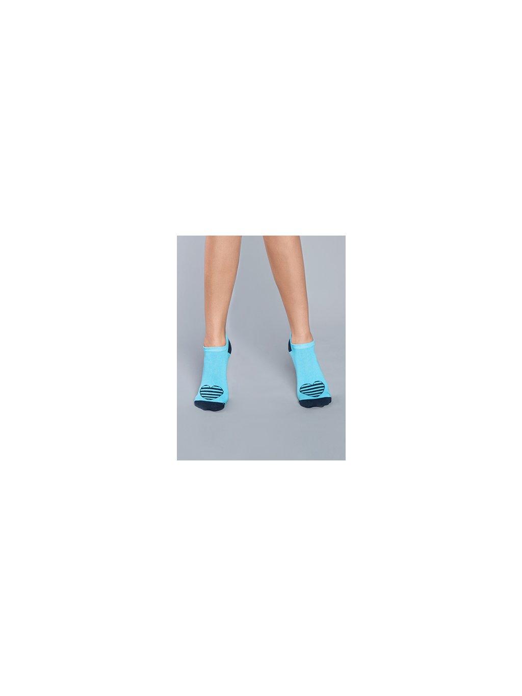 damske ponozky sitia modre