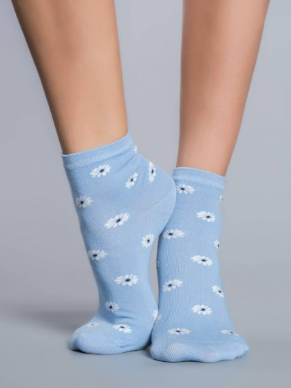 S59 ponozky daisy blue