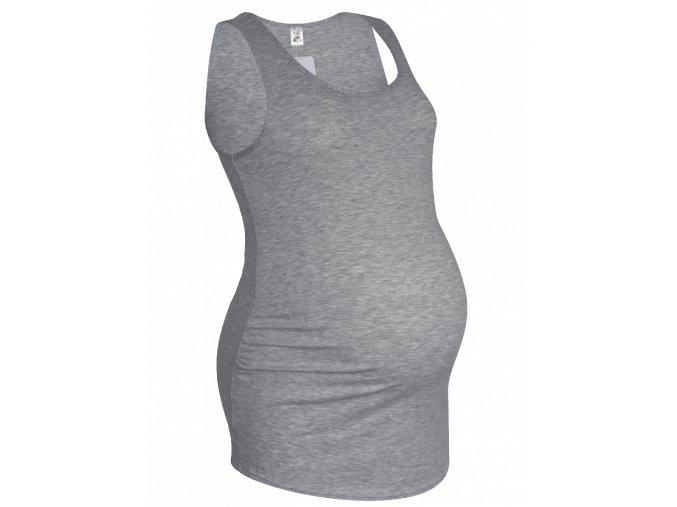Těhotenské tílko Eweline šedé