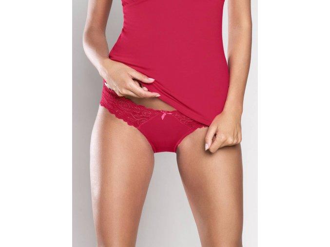 Inspiracja kalhotky mini red 1