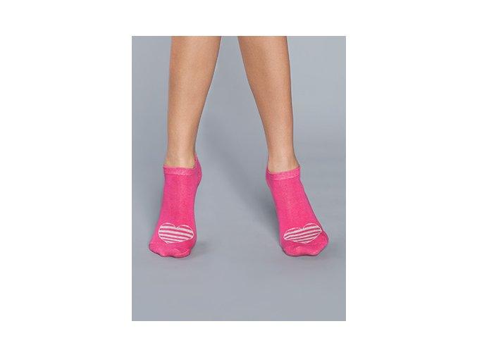 damske ponozky sitia ruzove