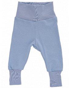 BIO kalhoty modré net