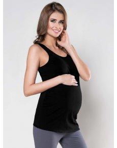 Těhotenské tílko černé