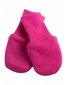 merino kojenecke rukavicky ruzove