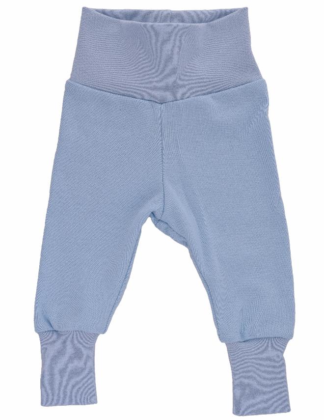 BIO kojenecké tepláčky modré Velikost: 50, Barva: modrá
