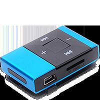 MP3 přehrávače bez displeje - Typ č. 1