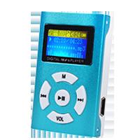 MP3 přehrávače bez displeje - Typ č. 5