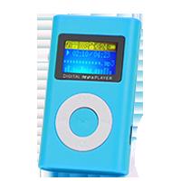 MP3 přehrávače bez displeje - Typ č. 6