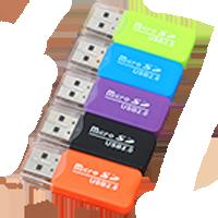 Příslušenství k MP3 - Adaptéry pro paměťové karty