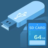 Příslušenství k MP3: Paměťové karty, adaptéry