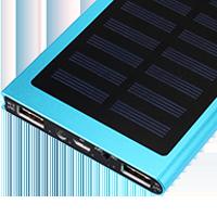 Power banky se solárním panelem