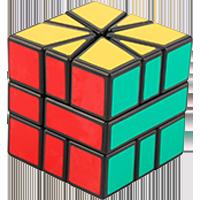 Rubikovy kostky - Špičatý střed