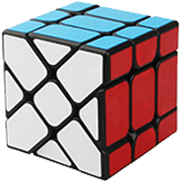 Rubikovy kostky - X-ka