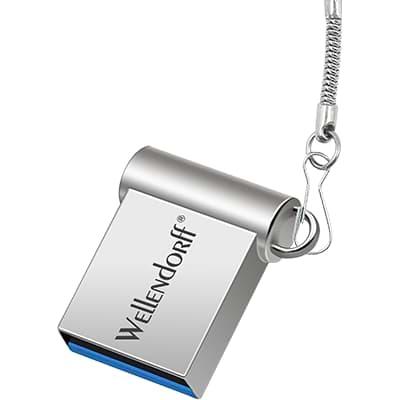 Mini USB Flash Disk - Stříbrný
