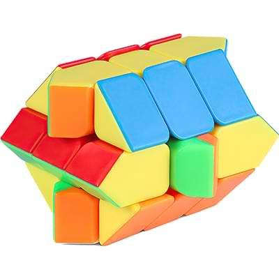 Rubikova kostka Fisher Cube bez nálepek - 2