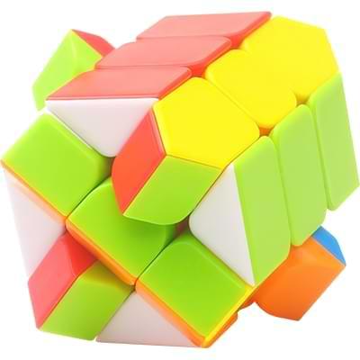 Rubikova kostka Fisher Cube bez nálepek - 3