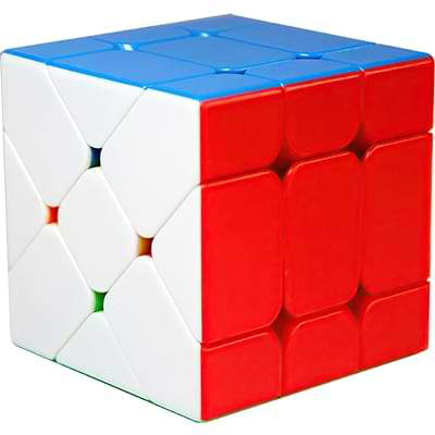 Rubikova kostka Fisher Cube bez nálepek - 4