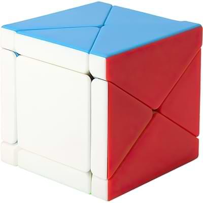 Rubikova kostka - Kostka - Fisher Skewb bez nálepek - 4