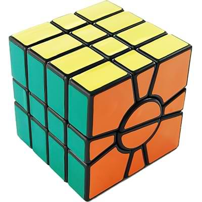 Rubikova kostka - Kostka s otočným středem - 4
