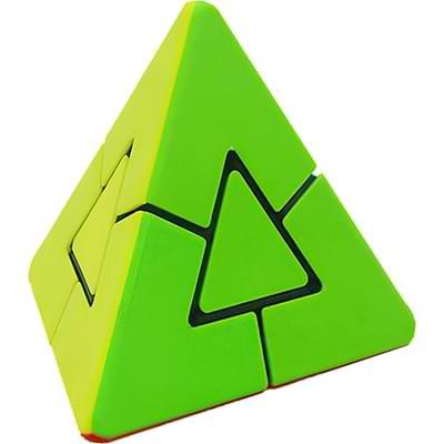 Rubikova kostka Pyramida s trojúhelníkovým středem - 1