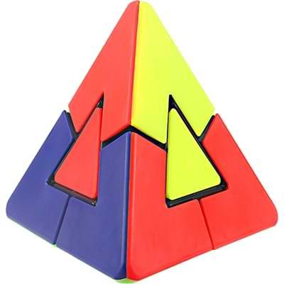 Rubikova kostka Pyramida s trojúhelníkovým středem- 2