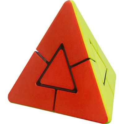 Rubikova kostka Pyramida s trojúhelníkovým středem- 4