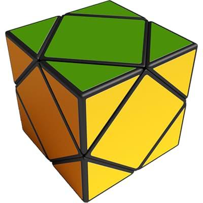 Rubikova kostka - Kostka - Skewb - 1