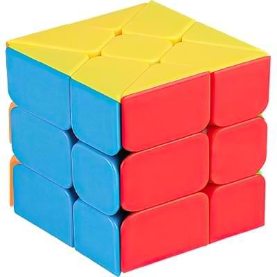 Rubikova kostka Windmill bez nálepek - 1