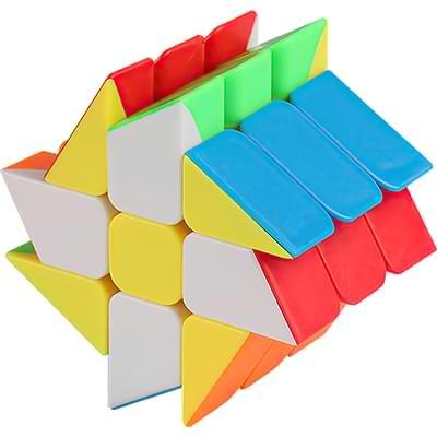 Rubikova kostka Windmill bez nálepek - 3