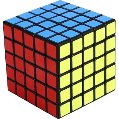 Rubikova kostka 5x5x5 - Černá