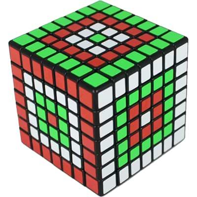 Rubikova kostka 7x7x7 - Černá