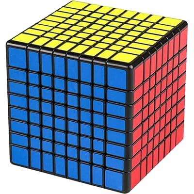 Rubikova kostka 8x8x8 - Černá