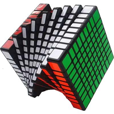 Rubikova kostka 9x9x9 - Černá