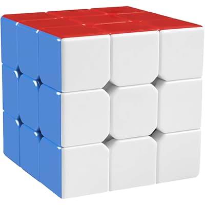 Rubikova kostka - Bez nálepek - 1
