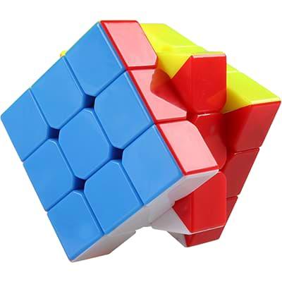Rubikova kostka - Bez nálepek -  2