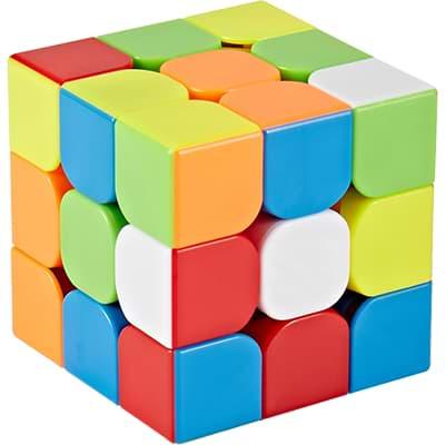 Rubikova kostka - Bez nálepek - 3