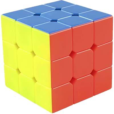 Rubikova kostka - Bez nálepek - 4